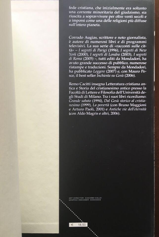 Inchiesta sul Cristianesimo - Augias / Cacitti - Mondadori 2008 3