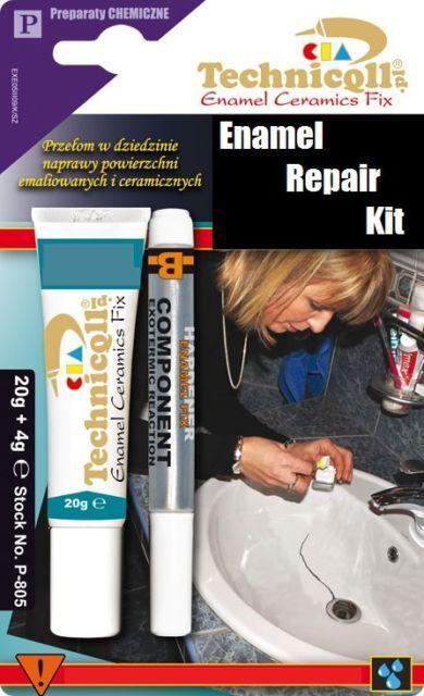 How to Repair an Enamel Sink
