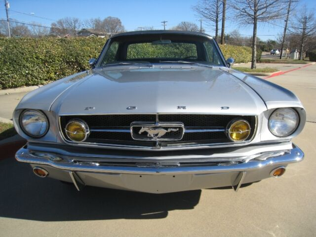 1965 ford mustang gt coupe 289 v8 auto w ac pb ps. Black Bedroom Furniture Sets. Home Design Ideas