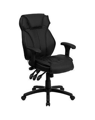 Most Flash Furniture High back Executive Office Chairs ffeature leather  surfaces  but some are fabric  vinyl   Top 7 Office Desk Chairs   eBay. Flash Furniture Mid Back Office Chair Black Leather. Home Design Ideas