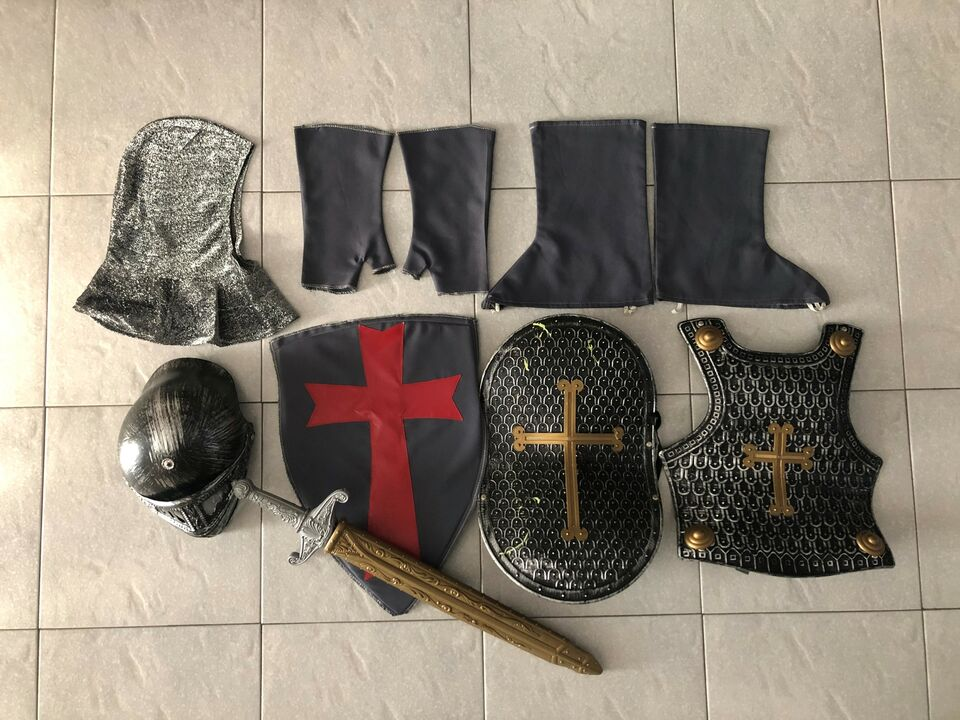 Costume bambino cavaliere templare 4