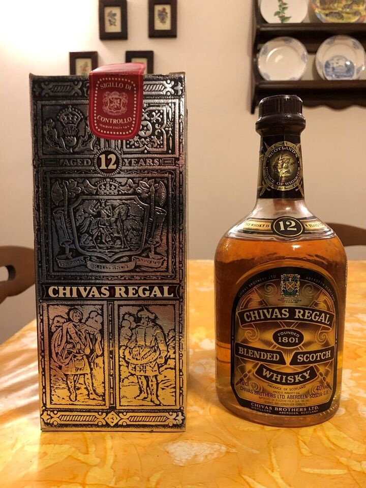 Chivas Regal Blended Scotch Whisky Rare Old Vintage