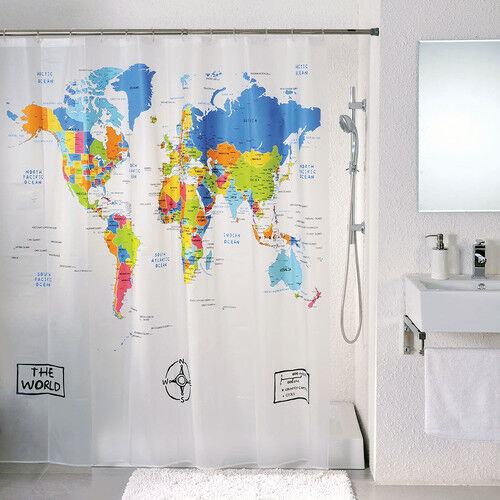 World Map Rug Ebay: Top 10 Shower Curtains