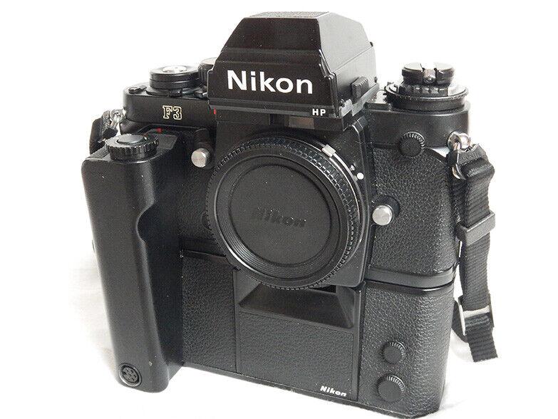 Nikon F3 HP + Nikon MD-4 MOTOR DRIVE Black +...