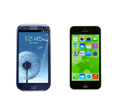Samsung Galaxy S3 vs. iPhone 5C