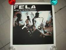 Poster limited edition fela kuti made in usa