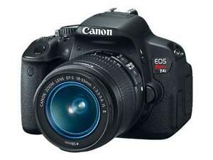 Canon EOS Rebel T4i Camera 64 BIT