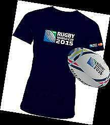 Maglietta Official T-Shirt RWC Rugby World Cup 2015 Taglia L 2