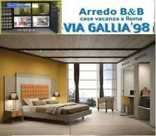"Arredo hotel a roma- CAMERA """"SMART 01""""- BED BREAKFAST "" B&B"