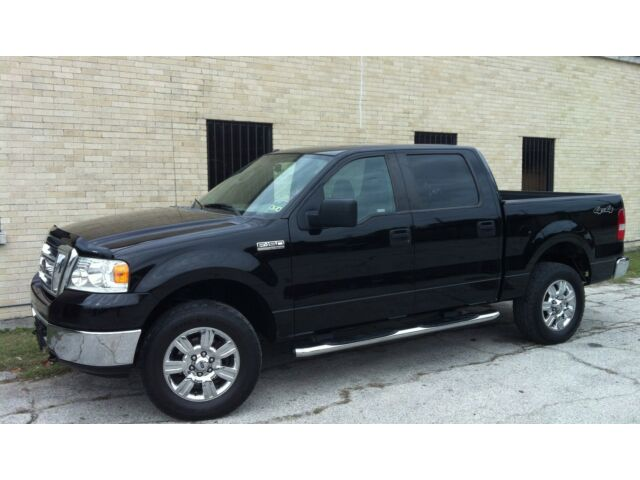 2007 ford f 150 xlt supercrew 4x4 crewcab low miles only. Black Bedroom Furniture Sets. Home Design Ideas