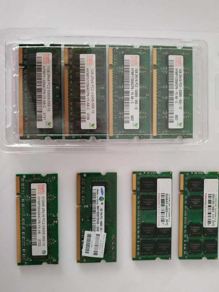 RAM DDR2 vari modelli