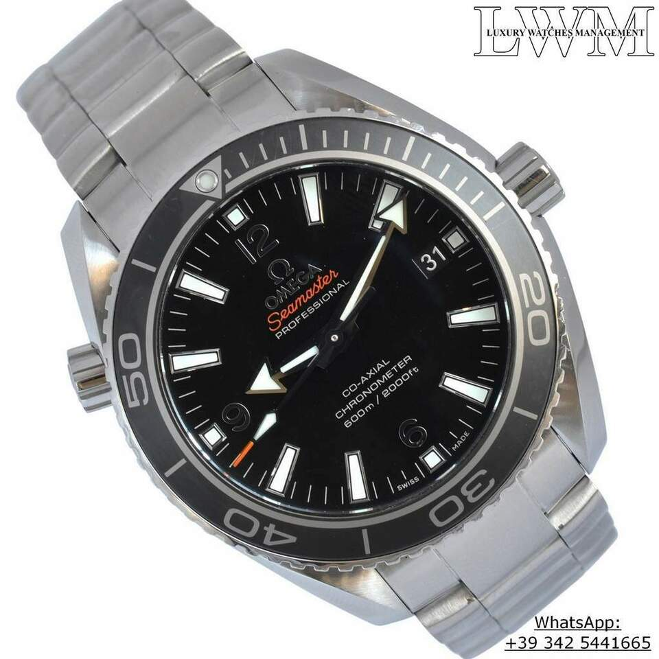 OMEGA Seamaster Planet Ocean 600M Co-Axial Full Set 2015