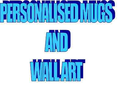 Personalised Mugs and Wall art