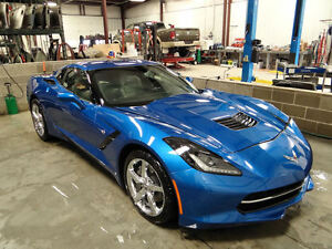 Clean-title-Salvage-Repairable-C7-Corvette-Stingray-2550-miles-Easy-fix