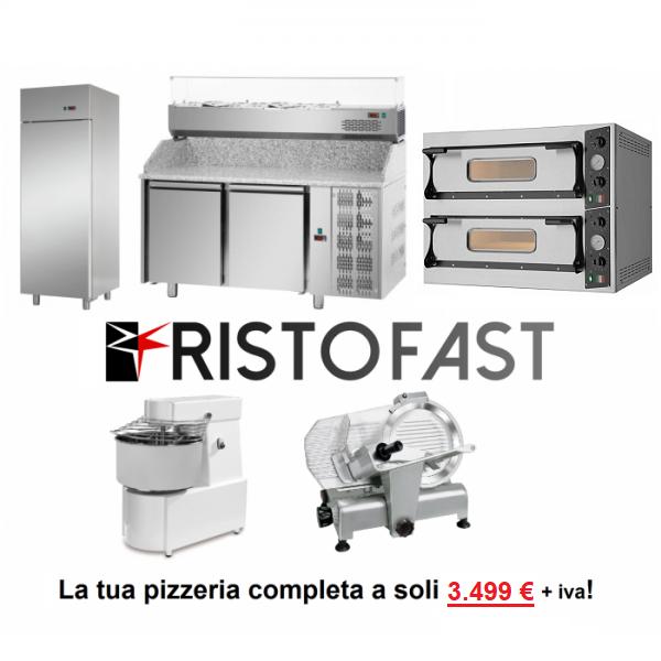 Offerta forno elettrico 4 pizze professionale Made in Italy 4