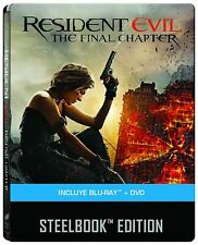 Resident Evil Final Chapter Limited Edition Steelbook (con ITA)