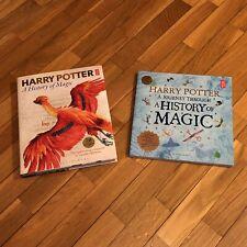 A History of Magic HARRY POTTER libri illustrati