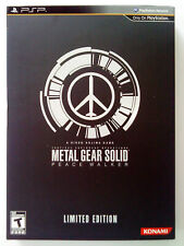 Gioco PSP Metal Gear Solid Peace Walker Limited Edition