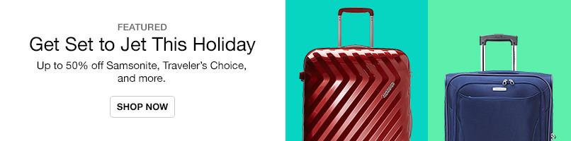 Up to 50% off Luggage and More