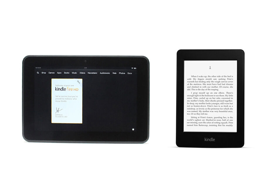 Kindle Paperwhite vs. Kindle Fire HD