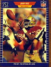 Jerry Rice Ungraded Football Trading Cards Lot