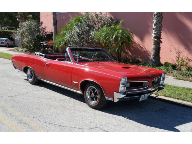1966 pontiac gto convertible 4 speed tri power used pontiac gto for sale in clearwater. Black Bedroom Furniture Sets. Home Design Ideas