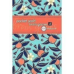 Pocket Posh Brain Games Vol. 4 : 100 Puzzles by Puzzle Society Staff ...