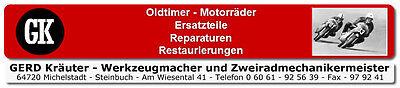 Gerd Kraeuter Oldtimer Motorraeder