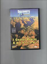 I grandi parchi americani, dvd originale Discovery Channel