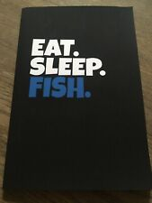 EAT SLEEP FISH quaderno pesca idea regalo