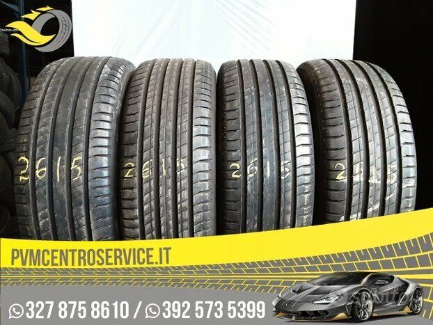 Gomme Usate 235 60 18 Michelin 2615