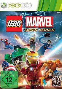 LEGO Marvel Super Heroes (Microsoft Xbox 360, 2015, DVD-Box)