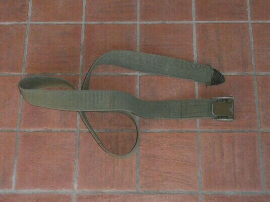 Us army ww2 heavy load od block belt