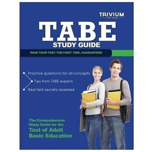 tabe study guide tabe test prep with practice test questions rh ebay com tabe test study guide 11&12 tabe test study guide 2017