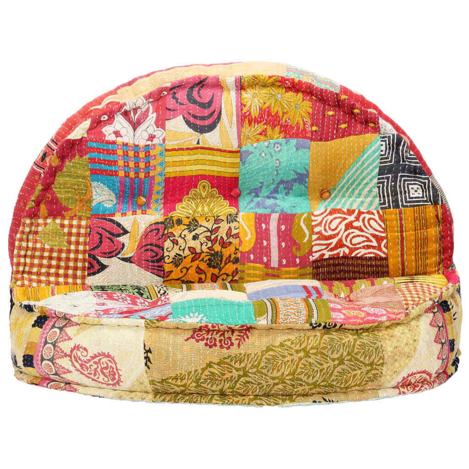 Pouf 100x20 cm in Tessuto Patchwork 2