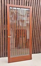 Porta legno 230x100, vetro doppio, vetrocamera