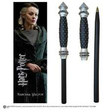 Noble Collections Harry Potter Narcissa Wand Pen And Bookmark Penna