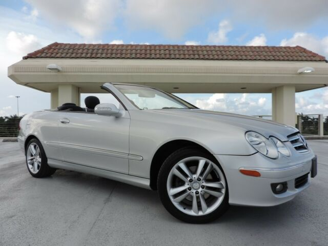Beautiful silver 2008 mercedes clk 350 convertible for Mercedes benz clk350 convertible for sale