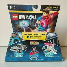 71201 Lego Back To The Future Level Pack
