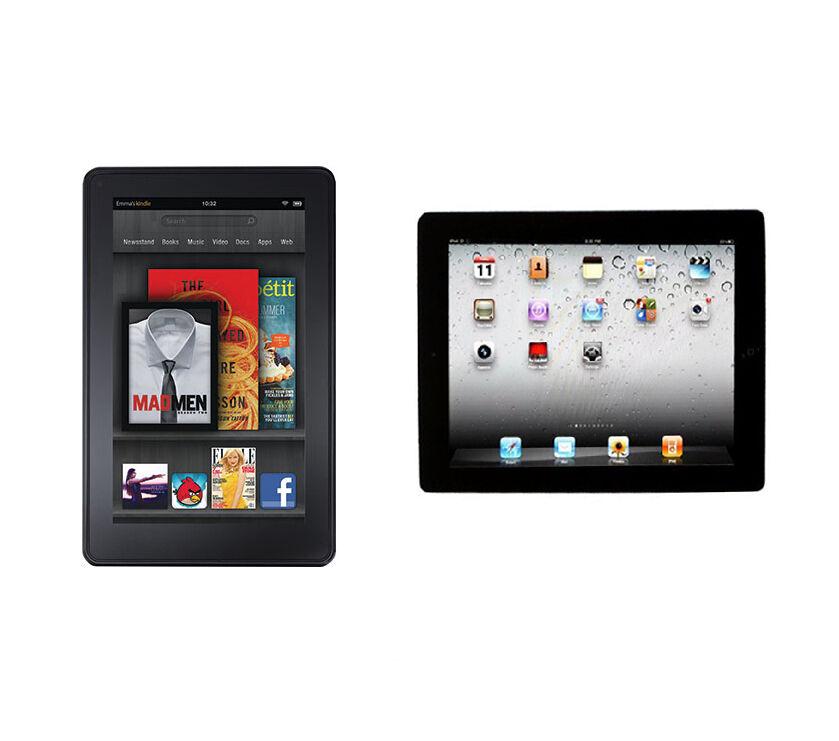 iPad 2 vs. Kindle Fire