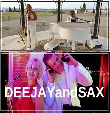 Deejay and sax e musica live .