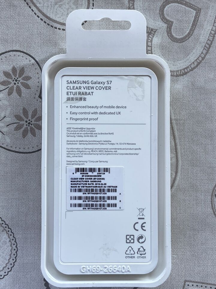 Custodia Samsung Galaxy S7 clear view 2