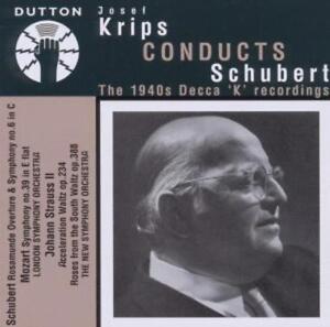 Rosamunde-Ouvertüre/Sinfonie 6 D 589/+ von Josef Krips (2011)