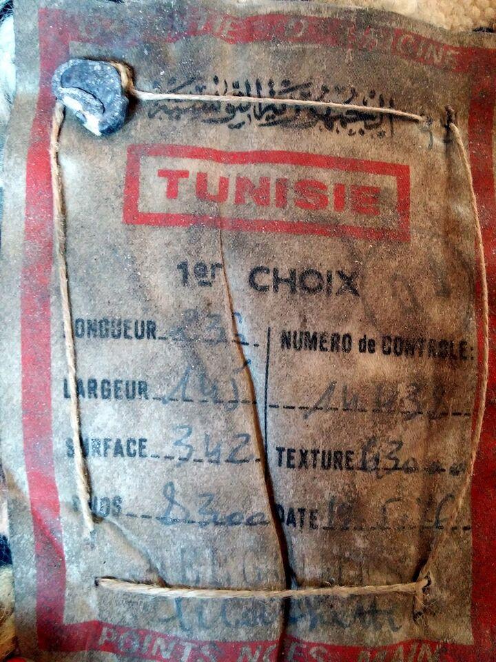 Tappeto tunisino originale 2.35m x 1.45m del 1976 5