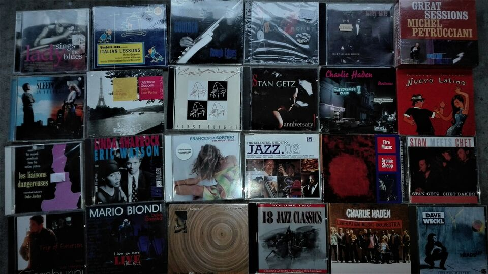 CD jazz-fusion originali 4