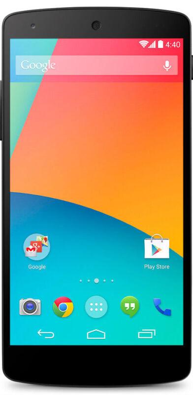 Google Nexus 5 - 16 GB - White - Smartphone