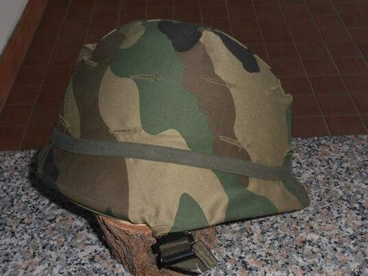 ELMETTO US ARMY - M1 Ground troops con telino continental