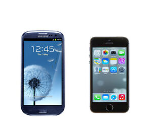 Samsung Galaxy S3 vs. iPhone 5S