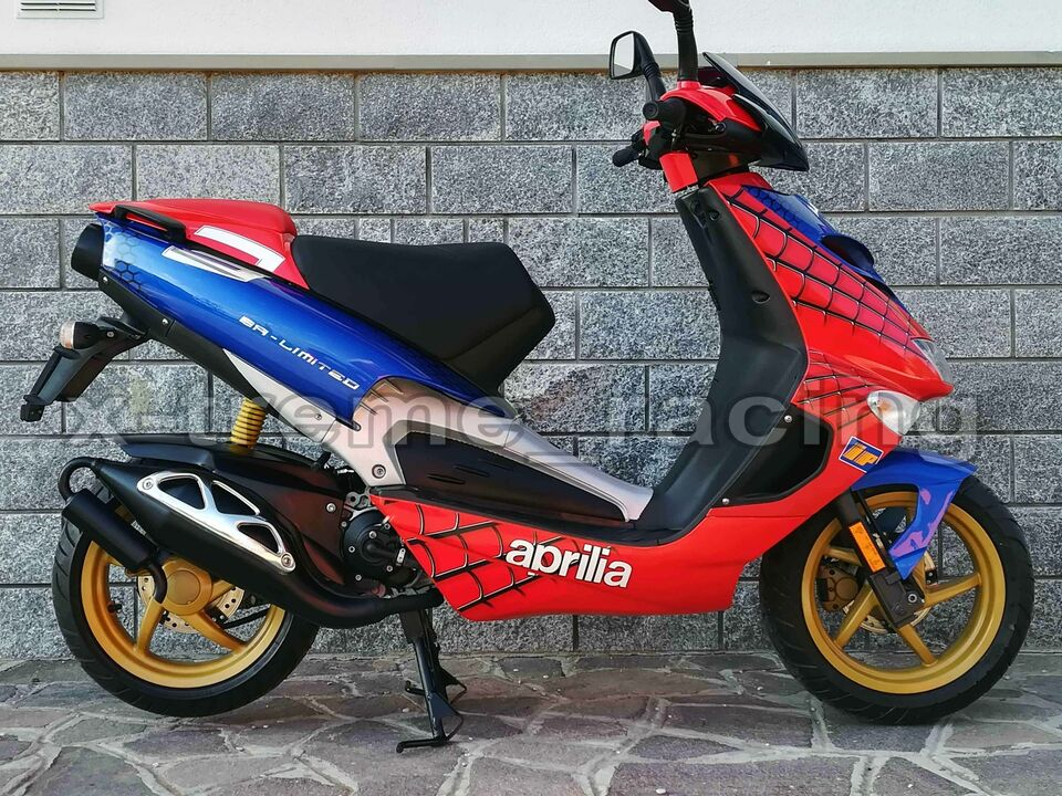 Aprilia SR LIMITED replica SPIDERMAN - 2003 2