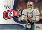 Topps Chrome Dan Marino Football Trading Cards
